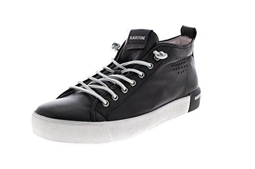 Blackstone Herren PM42 Hohe Sneaker, Schwarz (Black Blk), 48 EU