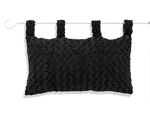 soleil-docre-900366-alaska-linge-pour-tete-de-lit-polyester-noir-70-x-45-cm