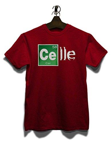 Celle T-Shirt Bordeaux