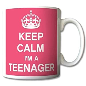 Keep Calm I'm A Teenager Mug Cup Gift Retro