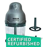 #9: (CERTIFIED REFURBISHED) Inalsa Mini Easy Chop DX 250-Watt Chopper (Grey)