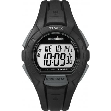 Timex TW5K94000 Orologio da Polso, Quadrante Digitale Unisex, Cinturino in Resina, Colore Nero