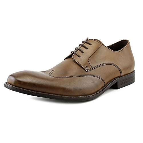 Kenneth Cole NY Main Lane Hommes Cuir Oxford Cognac