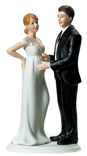 CAKE TOPPER SPOSAE SPOSO IN ATTESA - Sposo In Porcellana Wedding Cake Topper