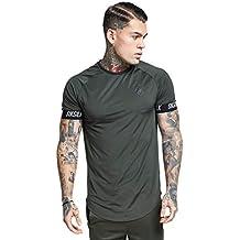 Sik Silk Hombres Camisetas Tech