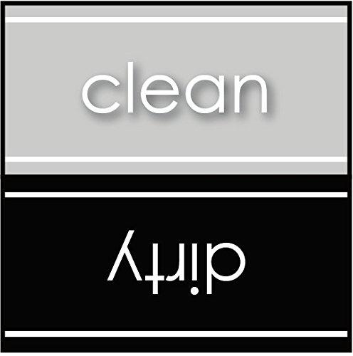 lmaschine Magnet-Laundry Sign-Grau & Schwarz (magnetisch) ()