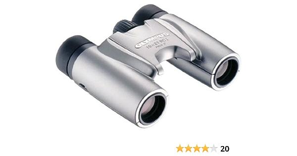 Olympus 10x21 Rc I Fernglas Silber Mit Tasche Kamera