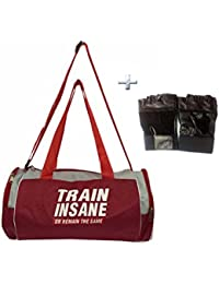 Combo Protoner Gym Bag Train Insane Or Remain The Same With Gloves
