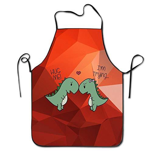 Dinosaur Bbq-sauce (Mabell Unisex Dinosaur Hug Me Dinosaurs Kitchen Aprons)