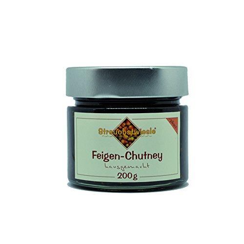Streuobstwiesle Feigen Chutney - 200 g - Herzhafte, aromatische Sauce zum Grillen, zum Fondue, zum Raclette, zum Kase, zum Reis.