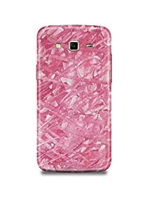 Samsung J3 Cover,Samsung J3 Case,Samsung J3 Back Cover,Pink Fabric Samsung J3 Mobile Cover By The Shopmetro-20383