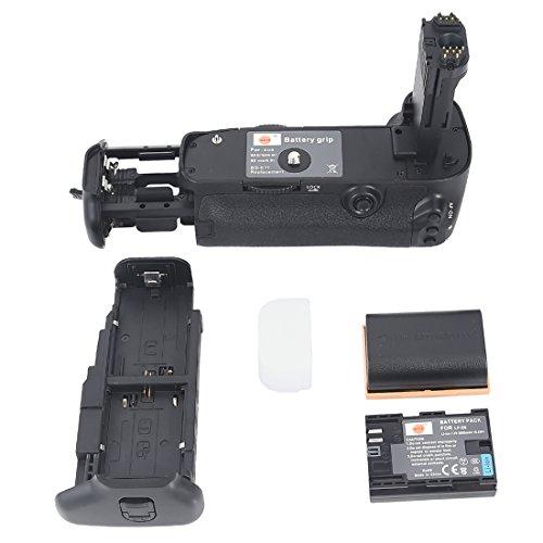 DSTE® Batterie Griff für Canon EOS 5D Mark III 3 SLR Digital Kamera als BG-E11 mit (2 packung) LP-E6 Digitale Slr-kamera-batterie