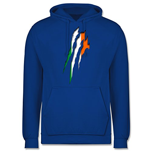 Länder - Irland Krallenspuren - Männer Premium Kapuzenpullover / Hoodie Royalblau
