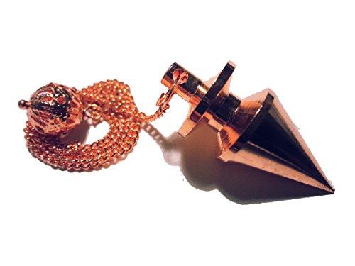 Pendolo di metallo per radiestesia esoterismo (tipo 1 rame)