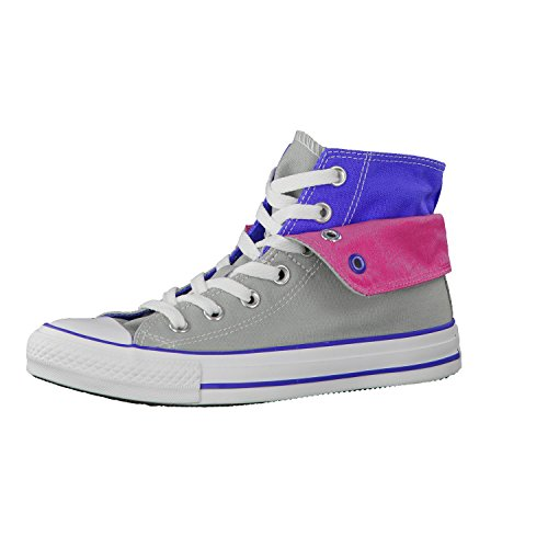 Converse Ct Two Fold Hi 288350-55-12 Damen Sneaker m.grey/blue