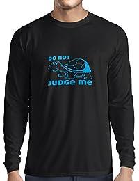 N4318L T-Shirt mit langen Ärmeln Verurteile mich nicht ...