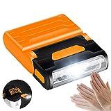 EisEyen - Sensor de Movimiento Recargable e Impermeable con LED, Cuerpo de Faro de inducción, Clip de luz, Tapa de lámpara Ajustable
