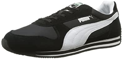 Puma Fieldsprint 354626, Unisex-Erwachsene Sneaker, Schwarz (black-white 07), EU 37 (UK 4) (US 5)