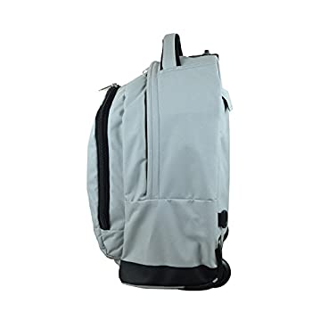 "Denco Unisex Ncaa Ucla Bruins Expedition Wheeled Backpack Inches, Grey, 19"" 2"