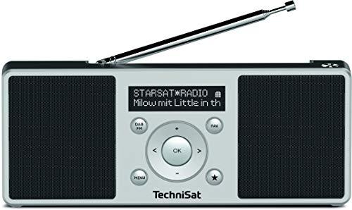 TechniSat Digitradio 1 S Portables DAB+/UKW Digitalradio mit Stereosound