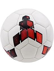 Owfeel Ballon de football en similicuir pour enfant Couleur aléatoire Taille 215cm