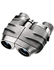 Tasco 10x25 Essentials - Prismático porro compacto, negro