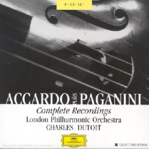 Accardo interprète Paganini (Coffret 6 CD)