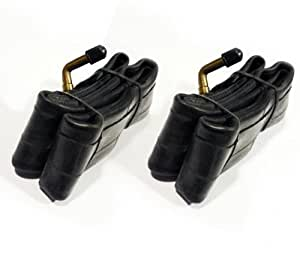 "Sunchase 2x Pram Buggy Tyre Inner Tubes with Bent Valve 12"" x 2 1/4 (12x2.25)"