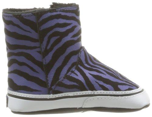 Boot Bebé Slip Krabbelschuhe Noir B Puschen I amp; Vans on Do camurça Sapatas Zebra tYUZRwxwn