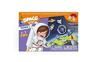 Miniland- On The Go: Space Trip Juego magnético para niños. (31974)