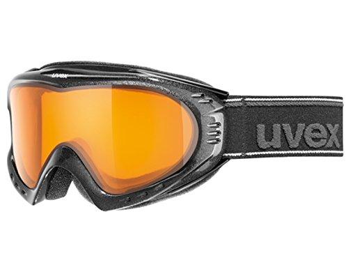 Uvex F2SUPRAVISION Skibrille-in schwarz oder polarweiß schwarz schwarz