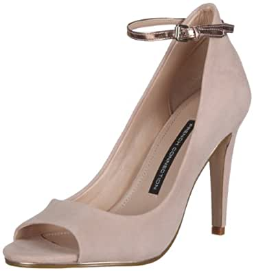 French Connection NEOLA FC-102055-1, Damen Pumps, Rot (new blush/rose 4230), EU 36