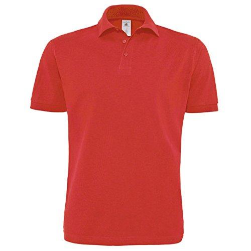 B&C Collection Herren Modern T-Shirt Rot