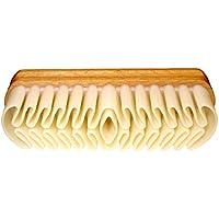 DELARA Nubuck Brosse en bois avec coussin Crépon