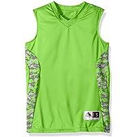 Augusta Sportswear Boys' Hook Shot Reversible Jersey S Lime/Lime Digi
