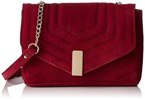 Petite MendigoteHibou - Borsa a tracolla Donna , rosso (Rouge (Rouge (Cerise))), 7x13x19 cm (W x H x L)