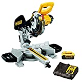 DeWalt DCS365M1 18V XR Cordless Mitre Saw 184mm With 1 x 4.0Ah Battery & Charger