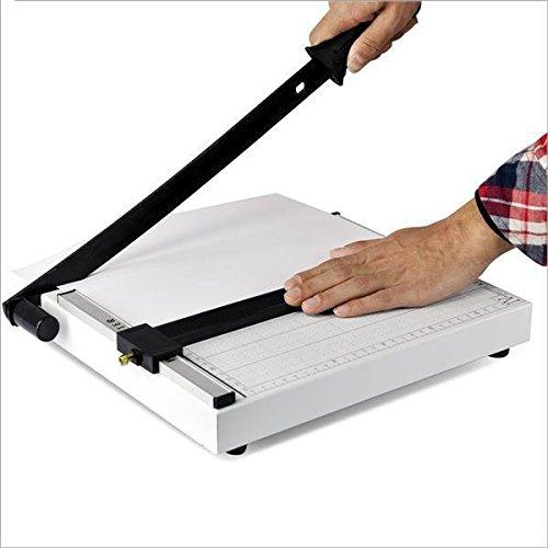 Popamazing–Guillotina, cortador de papel de alta calidad, base de metal, recortadora, profesional, de alta resistencia, A4
