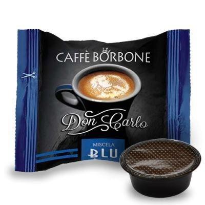 Caffè Borbone - Don Carlo Miscela Blu - Confezione da 100 Pezzi - Compatibili con Lavazza A Modo Mio