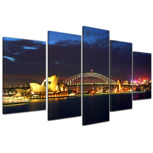 bilderdepot24-wall-art-canvas-picture-sydney-opera-house-and-harbour-bridge-3937-inch-x-1969-inch-10