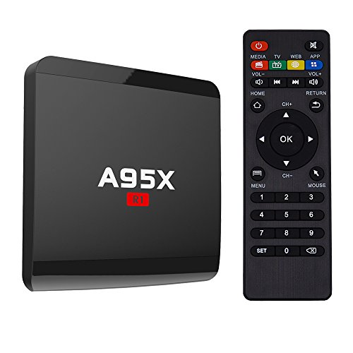 Beeoven A95X R1 Android TV Box 1GB + 8GB Android 7.1 Amlogic Quad-core 4K Smart TV Box (1G8G)