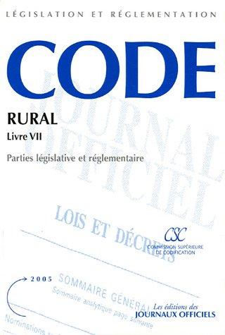 Code rural : Livre 7, Dispositions sociales