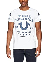 True Religion Herren T-Shirt White