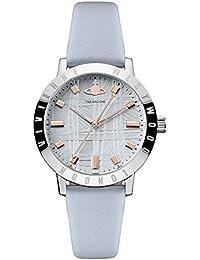 Vivienne Westwood Women Analogue Quartz Watch with Leather Strap VV152BLBL