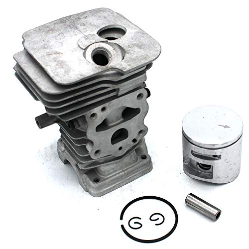 SeekPro 42mm Zylinder Kolben Kit für Husqvarna 445445e 450Chainsaw Ring Pin Clips Montage Motor Rebuild Teile # 544119802 -