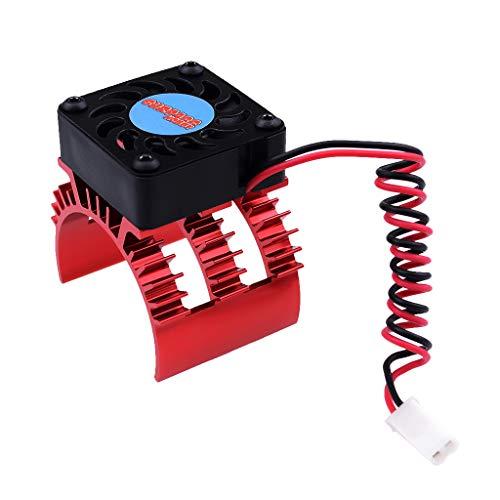 B Blesiya 1x Kühlkörper Motorkühlung Zubehör für 1/10 RC Motor 540 550 3650 3660 3665 3670 3674