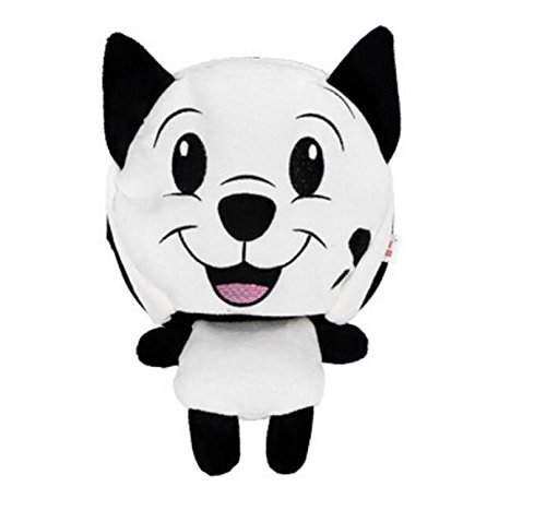 Kelaina Dessin animé de souris USB chauffant Chauffe-mains Tapis de souris avec protection de poignet, White Dog, 22.5*21cm