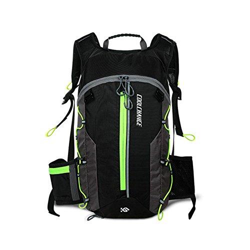 Jweal 10L Reiten Rucksack Mountain Bike Bag Outdoor Schulter Wasser Tasche Wasserdicht Damen & Herren Road Bike Equipment, Grün