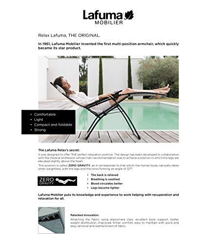 Lafuma Relaxliege Air Comfort Evolution Acier / Stahlblau Sonnenliege