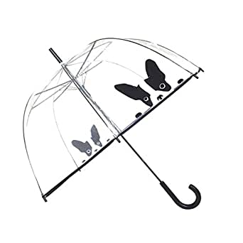 Parapluie cloche transparent CHIEN